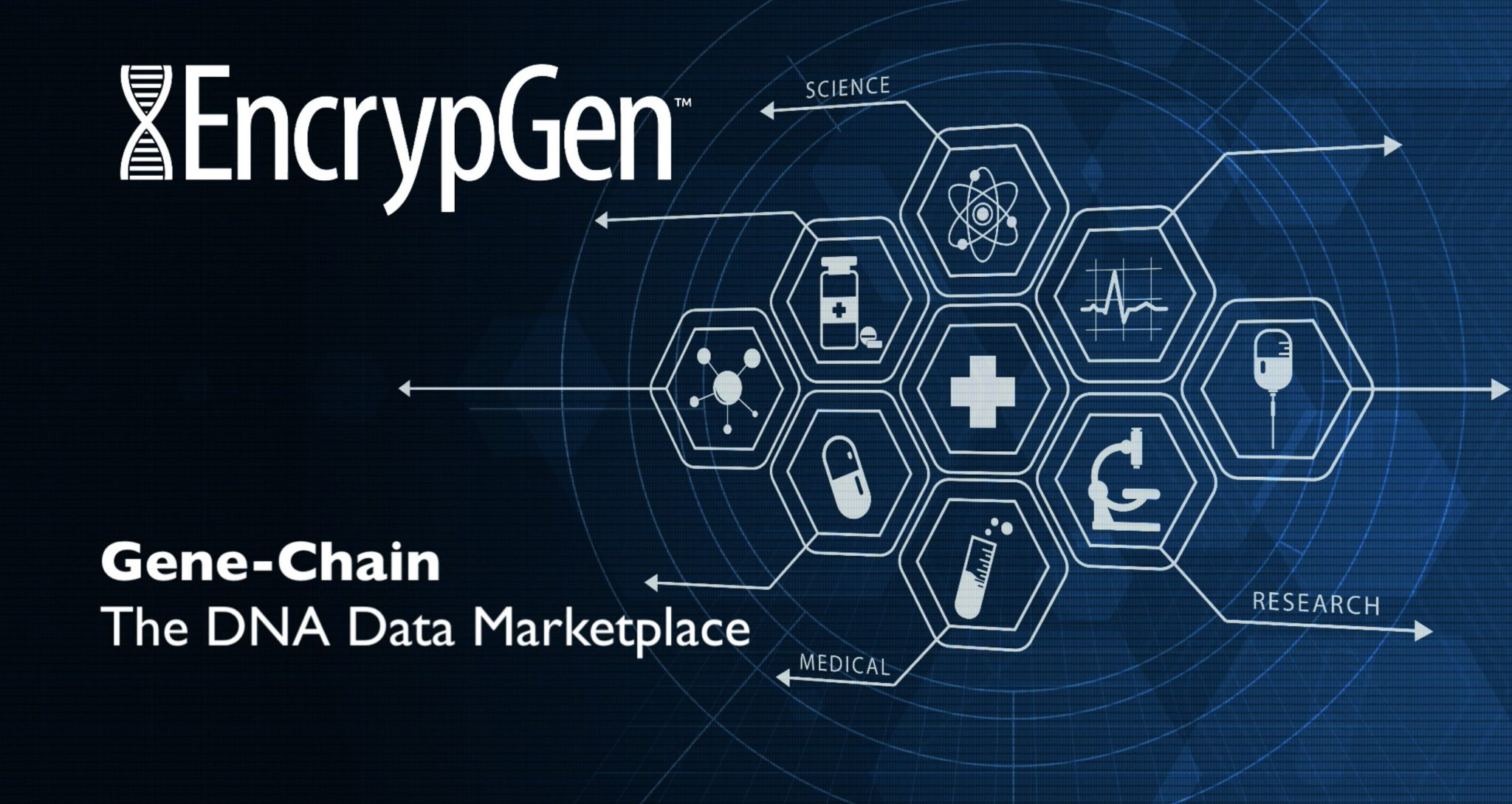 EncrypGen Launches World's First Genomic Data Marketplace